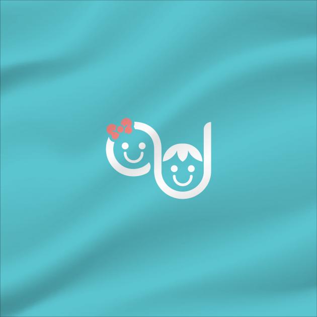 Exploramos o conceito da marca, através da figura estilizada de duas crianças fazendo alusão às iniciais do nome, passando mais personalidade. Usamos uma fonte limpa de arestas arredondadas, se harmonizando perfeitamente ao símbolo. Usamos o azul e o rosa para Alexandra Jankauskas - Pediatra