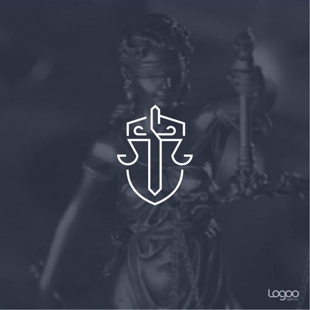 A marca é formada pela representação gráfica de um escudo, uma cruz e uma balança. As cores são sofisticadas e transmitem profissionalismo. As fontes são modernas e objetivas. para CRUZ Advocacia e Consultoria.